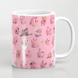 Rosa the Pig Pattern Coffee Mug