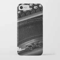 typewriter iPhone & iPod Cases featuring Typewriter by Falko Follert Art-FF77