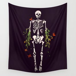 Dead is dead Wall Tapestry
