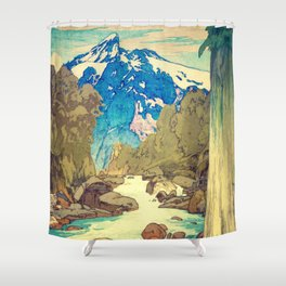 The Walk to Hokodoyama Shower Curtain