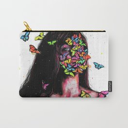 Believe in your beauty, believe in your wings...Emerge, and let yourself fly... Carry-All Pouch