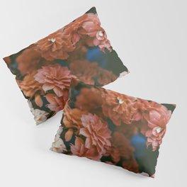 Kalanchoe Red Variation Pillow Sham