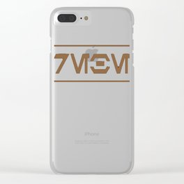 I Rebel (Aurebesh) T-Shirt Clear iPhone Case