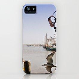 harbor landscape iPhone Case