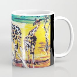 Giraffes,  East Africa             by Kay Lipton Coffee Mug