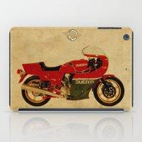 ducati iPad Cases featuring Ducati 900 MHR 1980 by Larsson Stevensem