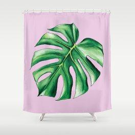 Palm Tree Leaf Art Print Shower Curtain