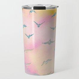 Sunset Birds Travel Mug