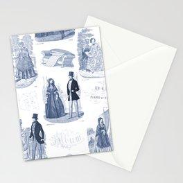 Biedermeier Blue Romance Stationery Cards