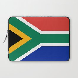 Flag of South Africa, Authentic color & scale Laptop Sleeve