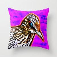 Pop Art Roadrunner No. 1 Throw Pillow