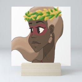 Amazon woman  Mini Art Print