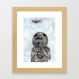 Pulling Teeth Framed Art Print