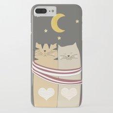 Moon Cats iPhone 7 Plus Slim Case