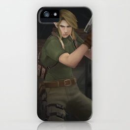 Link Kennedy iPhone Case