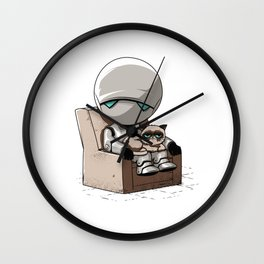 Don't talk to us... Wall Clock