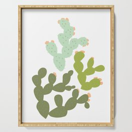 Prickly Pear Cacti Serving Tray