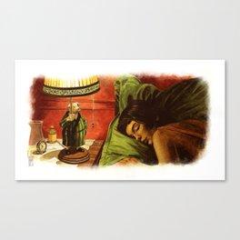 Le Fabuleux Destin d'Amelie Poulain Canvas Print
