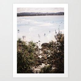The Pass, Byron Bay Art Print