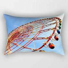 Odaiba Ferris Wheel, Tokyo Rectangular Pillow