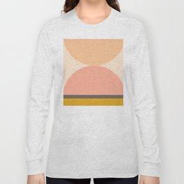Abstraction_Mountains_Balance_ART_Landscape_Minimalism_001 Long Sleeve T-shirt