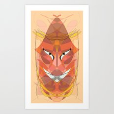 The Mask Art Print