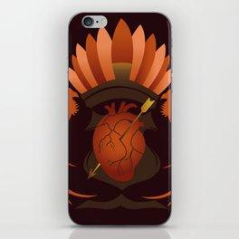 Quetzalli's Heart iPhone Skin