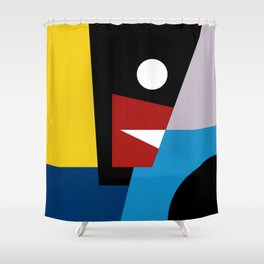 THE SPOKESMAN Shower Curtain
