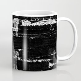 Distressed Grunge 102 in B&W Coffee Mug