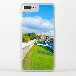 York Walls and Minster Clear iPhone Case