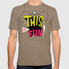 Wow this looks like fun! Tri-Coffee Mens Fitted Tee SMALL
