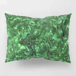 Abalone Shell | Paua Shell | Green Tint Pillow Sham