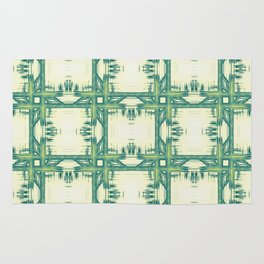 Seamless thorny pattern Rug