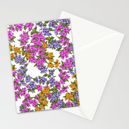 Beautiful Bougainvillea Stationery Cards