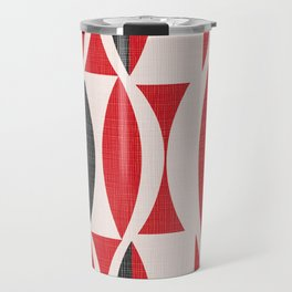 Seventies in Cherry Red Travel Mug