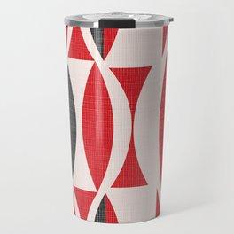 Seventies in Cherry Red Travel Mug