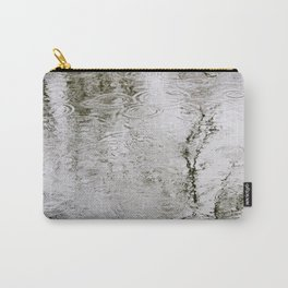 Rain Ripples Carry-All Pouch