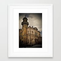 dark tower Framed Art Prints featuring Dark Tower by Contrasens