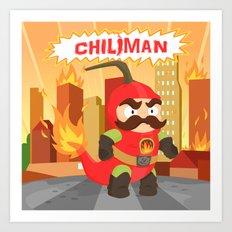 Chiliman Art Print