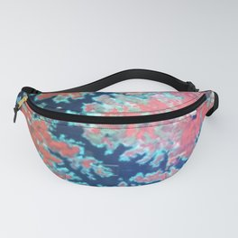 Deep craky earth view texture Fanny Pack