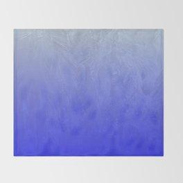 Blue Ice Glow Throw Blanket