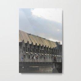 Ghent Belgium Metal Print