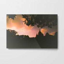 Sacre-Coeur, Paris. Metal Print