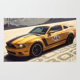 Boss 302 Mustang Rug