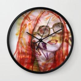 Julianne Moore Sunflower Wall Clock