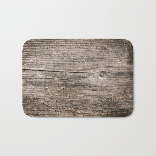 The old boards . Wood . Bath Mat