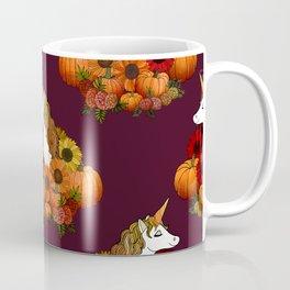 Autumn Harvest Unicorn Coffee Mug