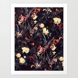 Night Forest VI Kunstdrucke