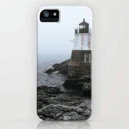Castle Hill Lighthouse, Rhode Island iPhone Case