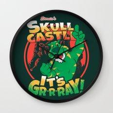 It's Gr-r-ray! Wall Clock